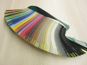 Velika paleta barvnih odtenkov